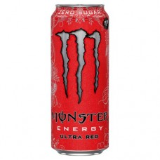 DRINK MONSTER ULTRA RED £1.29PM- (GB) 12 x 500ML