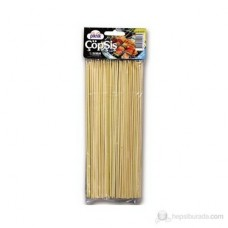 BARBECUE - WOODEN SKEWERS 100PCS 1 x 100 PACK